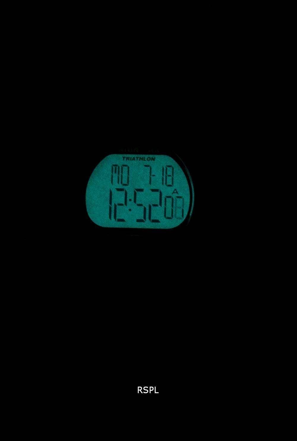 Timex Sports Ironman Triathlon 50 Lap Indiglo Digital T5K155 Men's Watch