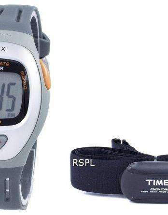 Timex Easy Trainer Heart Rate Monitor Indiglo BPM Digital T5K730 Unisex Watch