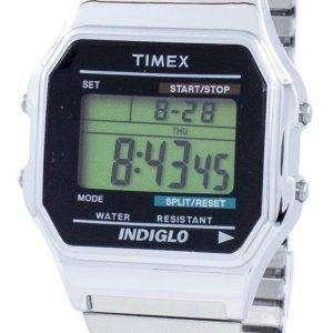 Timex Timeless Classic Indiglo Chronograph Alarm Digital T78587 Men's Watch