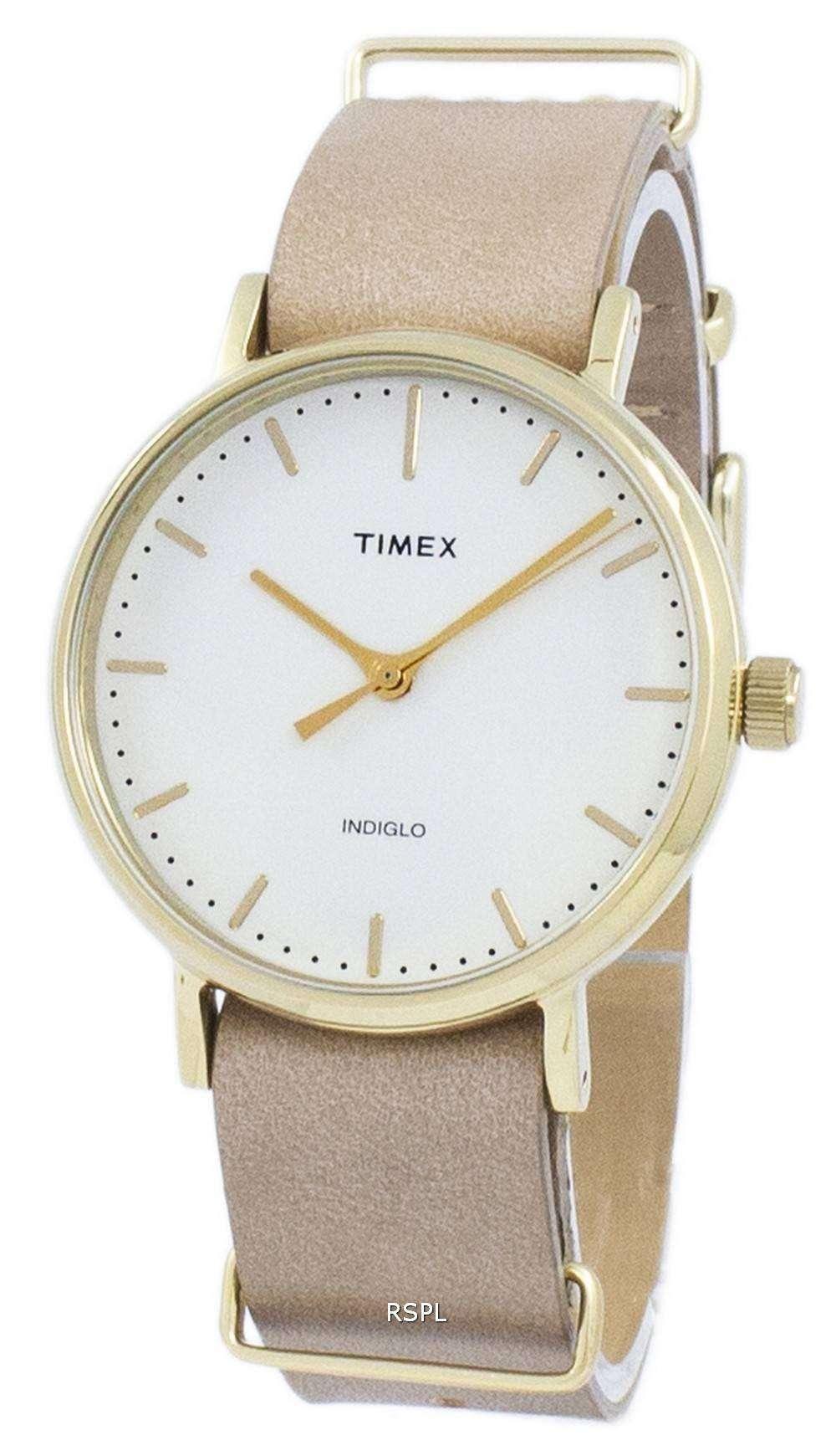 Timex Weekender Fairfield Indiglo Quartz Tw2p98400 Unisex