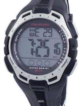 Timex Sports Marathon Chronograph Dual Time Indiglo TW5K94600 Men's Watch