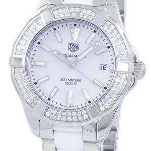 Tag Heuer Aquaracer Quartz 300M Diamond Accents WAY131F.BA0914 Women's Watch