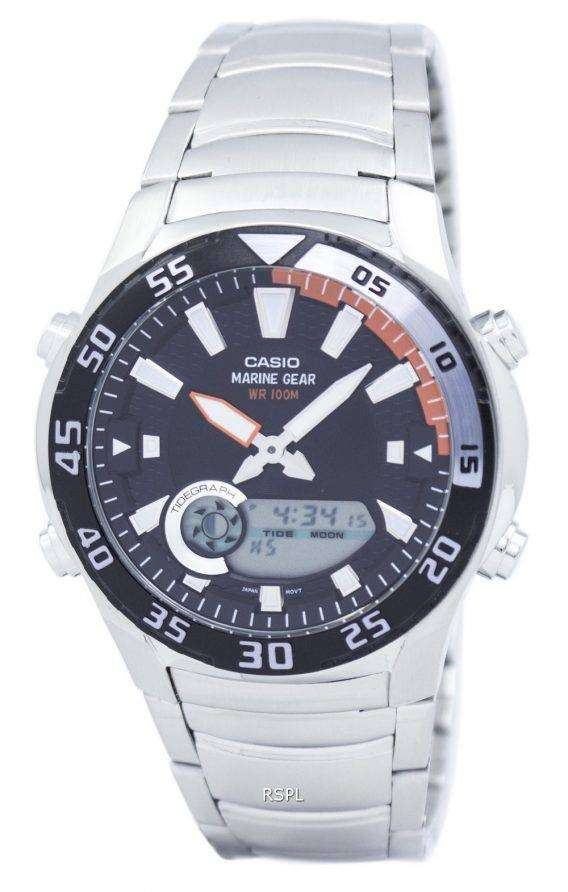 Casio Analog Digital Marine Gear AMW-710D-1AVDF AMW-710D-1AV Mens Watch 1