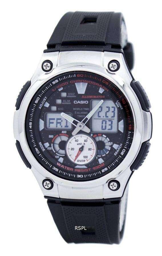 Casio Analog Digital Youth Series Illuminator AQ-190W-1AVDF AQ-190W-1AV Mens Watch 1