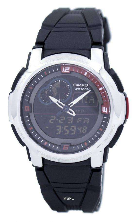 Casio Analog Digital Thermometer AQF-102W-1BVDF AQF-102W-1BV Mens Watch 1