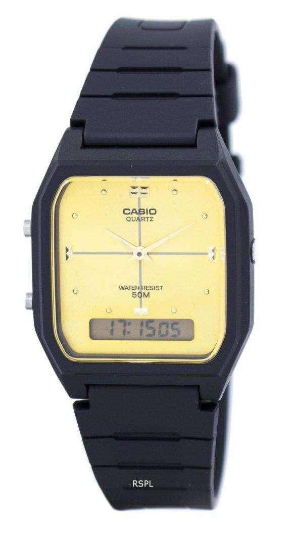 Casio Analog Digital Quartz Dual Time AW-48HE-9AVDF AW-48HE-9AV Mens Watch 1