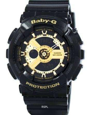 Casio Baby-G World Time Analog Digital BA-110-1A Womens Watch