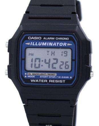Casio Digital Quartz Alarm Chrono Illuminator F-105W-1ADF F-105W-1 Mens Watch