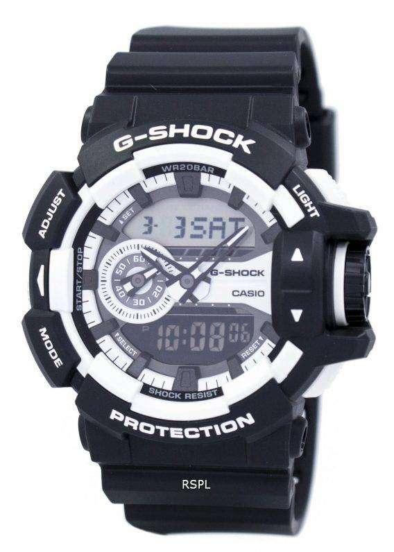 Casio G-Shock Analog-Digital 200M GA-400-1A Mens Watch 1