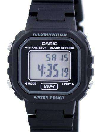 Casio Digital Quartz Alarm Chrono Illuminator LA-20WH-1ADF LA-20WH-1A Womens Watch