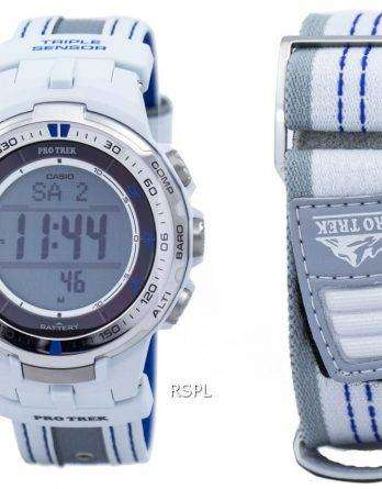 Casio Protrek Digital Atomic Tough Solar Triple Sensor PRW-3000G-7D Watch