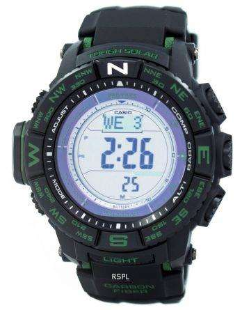 Casio Protrek Triple Sensor Tough Solar Atomic PRW-S3500-1D Watch