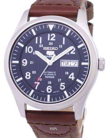 Seiko 5 Sports Automatic Canvas Strap SNZG11K1-NS1 Men's Watch