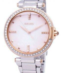 Seiko Quartz Diamond Accents SRZ514 SRZ514P1 SRZ514P Women's Watch