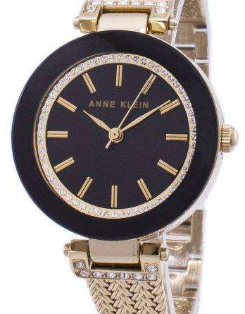 Anne Klein Quartz Diamond Accents 1906BKGB Women's Watch