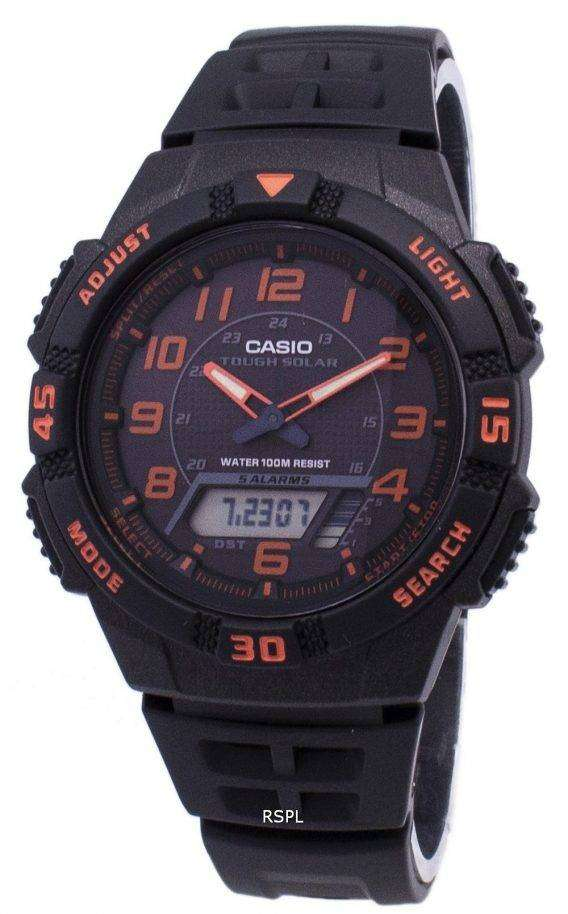 Casio Analog Digital Tough Solar AQ-S800W-1B2VDF AQ-S800W-1B2V Mens Watch 1