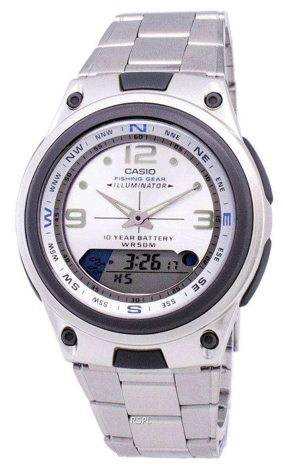 Casio Analog Digital Out Gear Fishing Illuminator AW-82D-7AVDF AW-82D-7AV Mens Watch 1