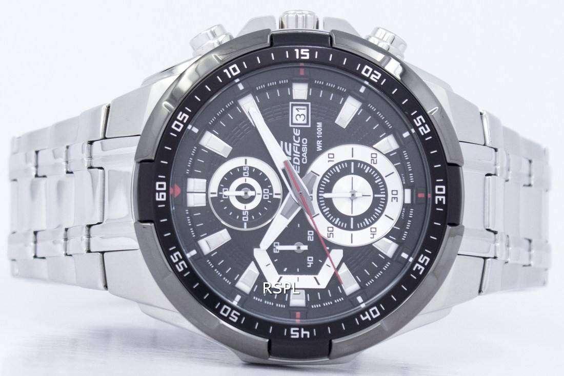 ... Casio Edifice Chronograph 100M EFR-539D-1AV Mens Watch ... 03a5798b21