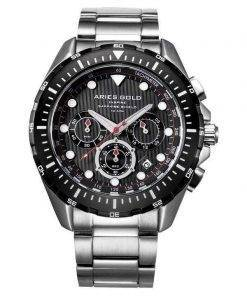 Aries Gold Inspire Atlantic Chronograph Quartz G 7002 SBK-BK Men's Watch