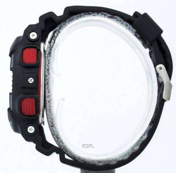 Casio G-Shock Velocity Indicator Alarm GA-100-1A4 GA-100 Watch