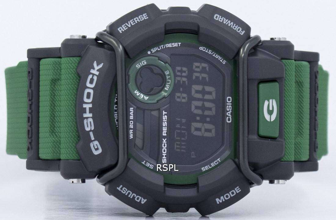 the latest c9ebf 21037 Casio G-Shock Flash Alert Super Illuminator 200M GD-400-3 Mens Watch