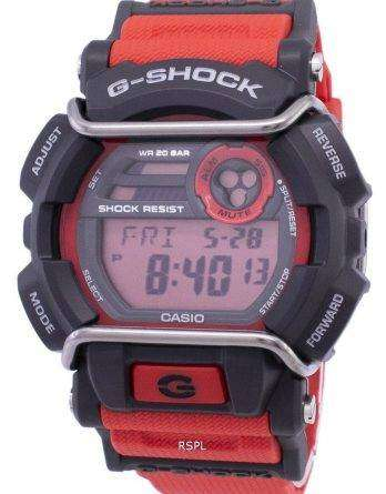 Casio G-Shock Flash Alert Super Illuminator 200M GD-400-4 Mens Watch