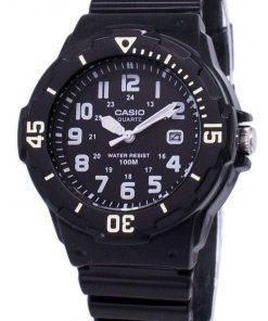 Casio Enticer Analog Black Dial LRW-200H-1BVDF LRW-200H-1BV Womens Watch