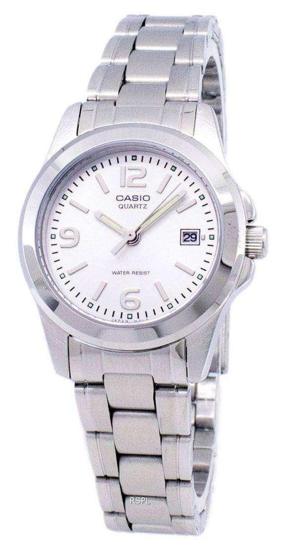 Casio Analog Quartz White Dial LTP-1215A-7ADF LTP-1215A-7A Womens Watch 1