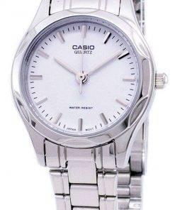 Casio Analog Quartz White Dial LTP-1275D-7ADF LTP-1275D-7A Womens Watch