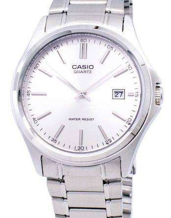 Casio Quartz Analog Stainless Steel Silver Dial MTP-1183A-7ADF MTP-1183A-7A Mens Watch