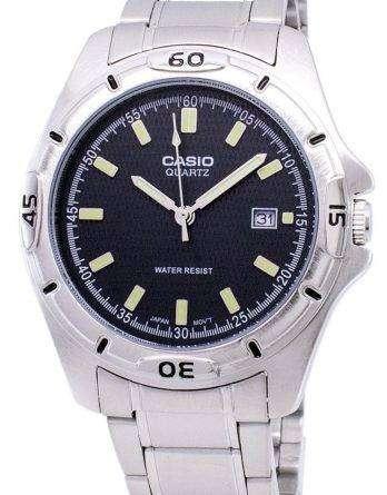 Casio Enticer Quartz Analog Black Dial MTP-1244D-8ADF MTP-1244D-8A Mens Watch