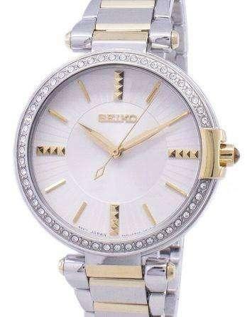 Seiko Analog Quartz Diamond Accents SRZ516 SRZ516P1 SRZ516P Women's Watch