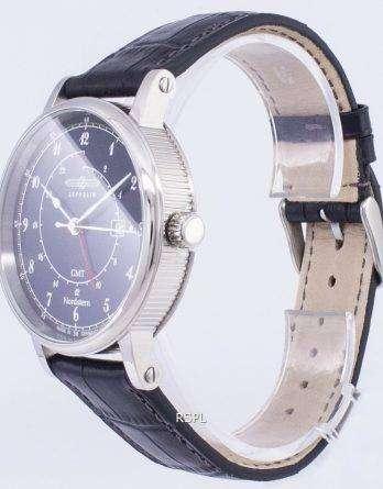Zeppelin Series Nordstern GMT Germany Made 7546-3 75463 Men's Watch