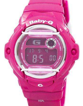 Casio Baby-G Pink World Time BG-169R-4B Womens Watch