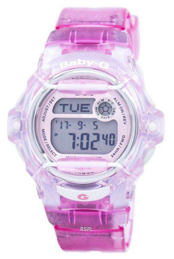 Casio Baby-G Alarm World Time BG-169R-4D BG169R Ladies Watch 1