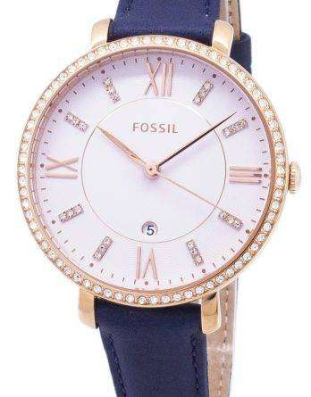 Fossil Jacqueline Quartz Diamond Accents ES4291 Women's Watch