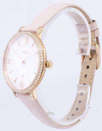 Fossil Jacqueline Quartz Diamond Accent ES4303 Women's Watch