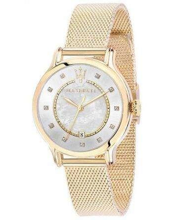 Maserati Epoca Quartz Diamond Accents R8853118502 Women's Watch