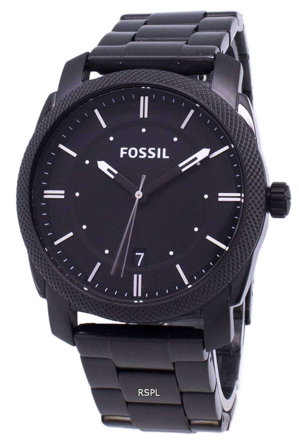 Review Fossil Men's FS4774 Machine Analog Display Analog ...