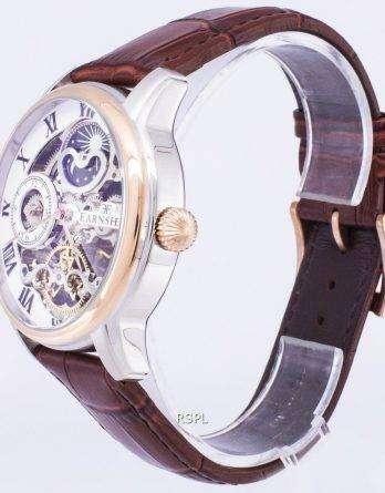 Thomas Earnshaw Longitude Sun And Moon Automatic ES-8006-03 Men's Watch