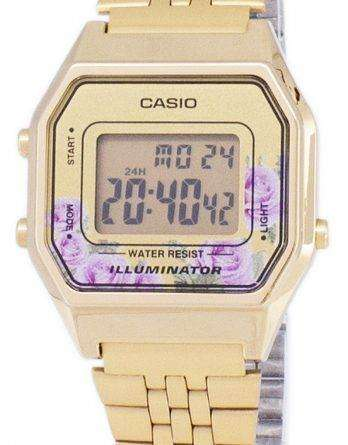 Casio Vintage Illuminator Quartz Digital LA680WA-4C Women's Watch