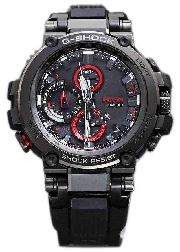 1f36fc29077e Casio G-Shock MTG-B1000B-1AJF MT-G Bluetooth Radio Controlled 200M Men s  Watch