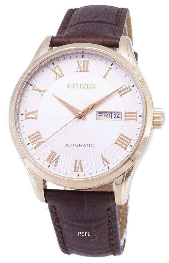 Citizen Analog Automatic NH8363-14A Men's Watch 1