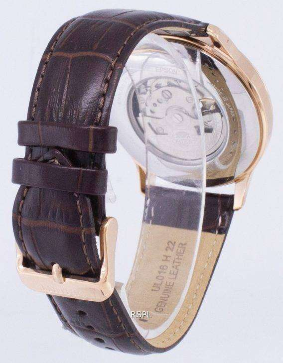 Orient Analog Open Heart Automatic Japan Made RA-AG0012S00C Men's Watch