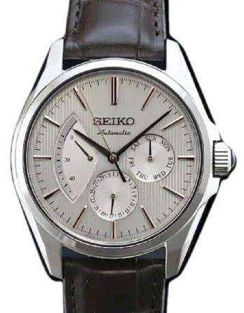 Seiko Presage SARW033 Power Reserve Automatic Japan Made Men's Watch