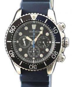 Seiko Prospex SBDL049 Scuba Diver 200M Chronograph Solar Men's Watch