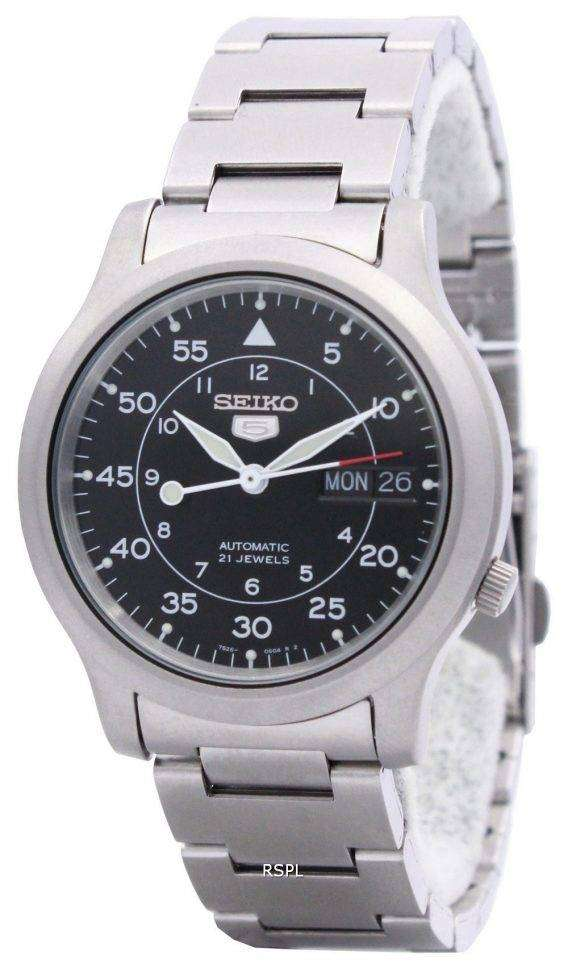 Seiko 5 Automatic 21 Jewel SNK809K1 SNK809K Mens Watch 1
