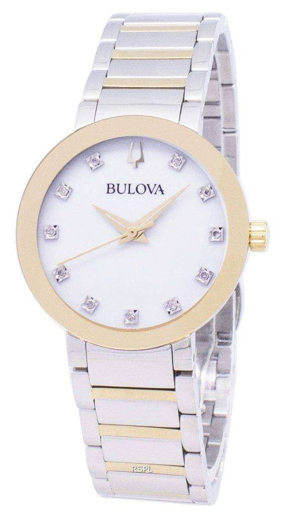 Bulova Modern 98P180 Diamond Accents Quartz Women's Watch 1