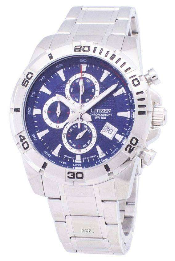 Citizen Analog AN3490-55L Chronograph Tachymeter Quartz Men's Watch 1