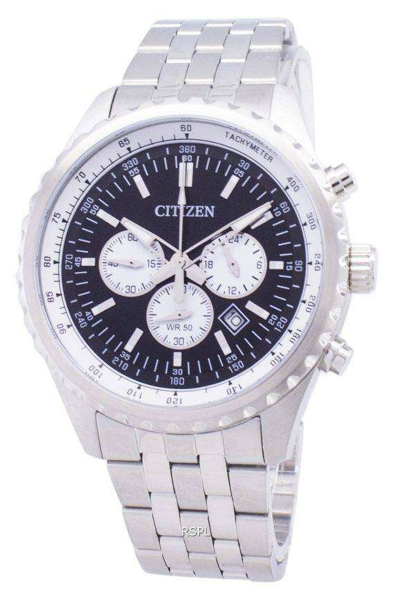 Citizen Analog AN8061-54E Chronograph Tachymeter Quartz Men's Watch 1
